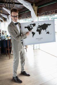WEdding Master of ceremonies / wedding Host / The Wedding MC / ceremóniamester világtérképe